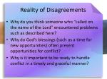 reality of disagreements8