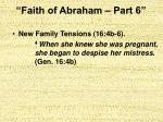 faith of abraham part 613