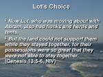 lot s choice6