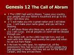 genesis 12 the call of abram