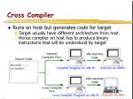 cross compiler