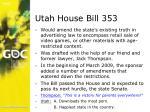 utah house bill 353