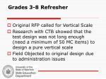 grades 3 8 refresher