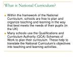 what is national curriculum5