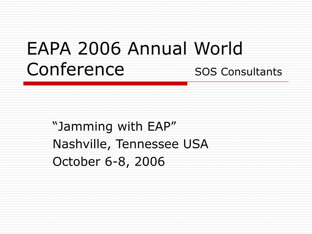 jamming with eap nashville tennessee usa october 6 8 2006 l.