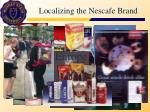 localizing the nescafe brand