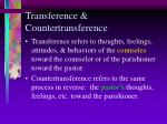 transference countertransference