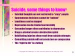 suicide some things to know 3