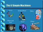 the 6 simple machines15
