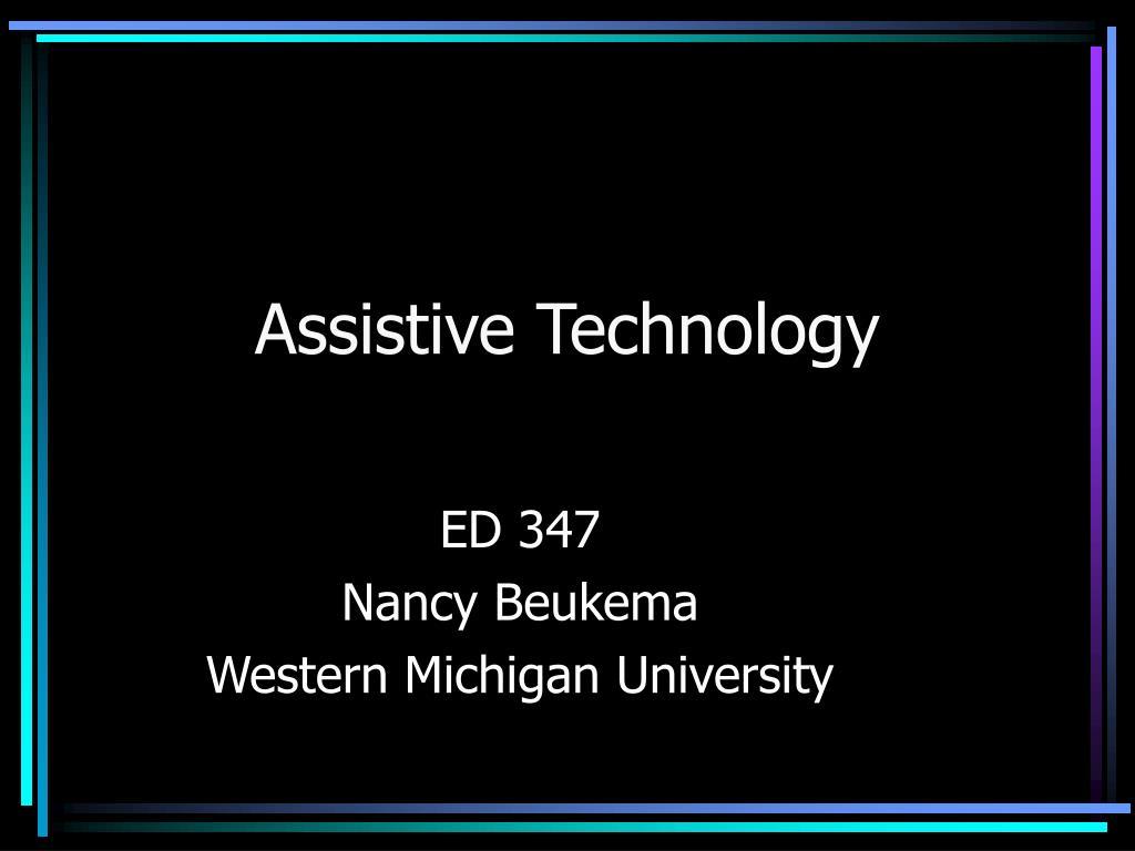 assistive technology l.