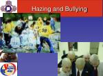 hazing and bullying