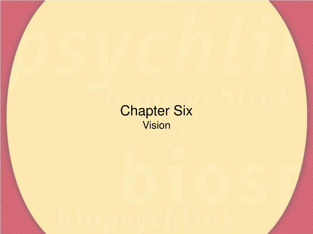 chapter six vision l.