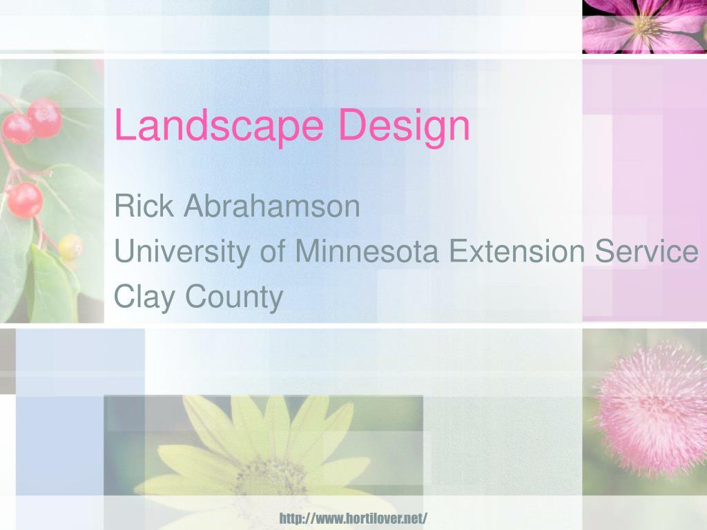 landscape design l.