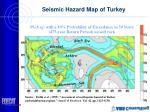 seismic hazard map of turkey
