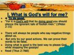 i what is god s will for me15