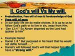 ii god s will vs my will18