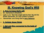 iii knowing god s will