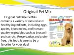 original petmix