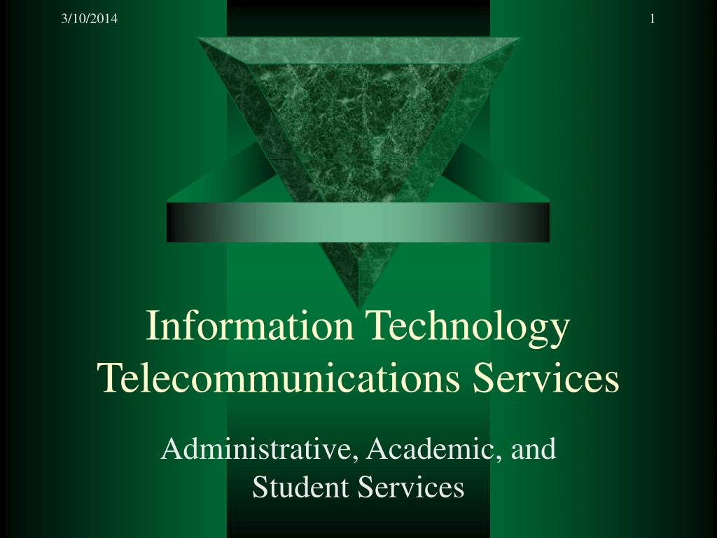 information technology telecommunications services l.