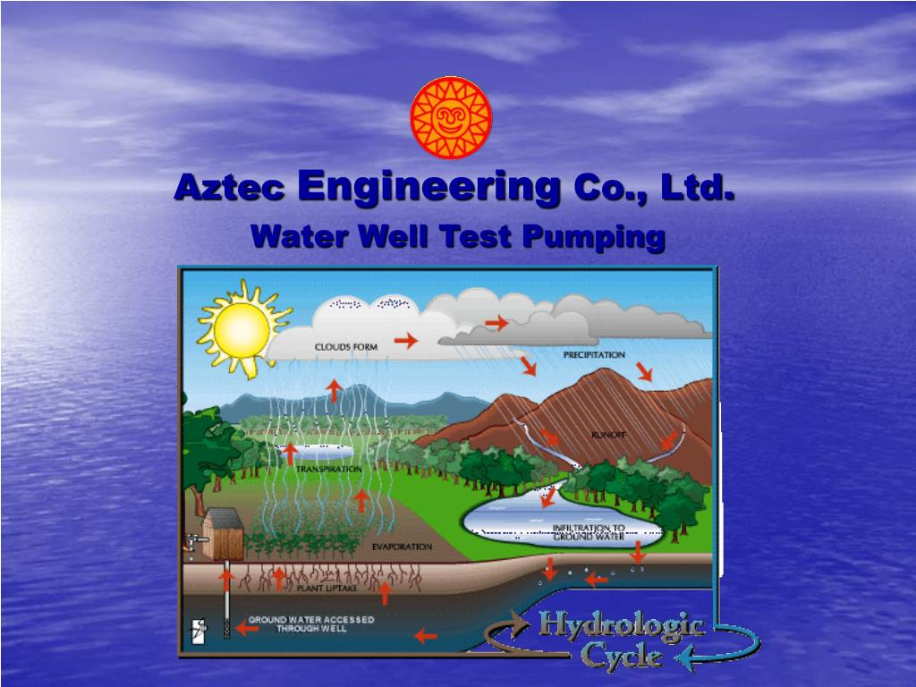 water well test pumping l.
