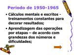 per odo de 1950 19659