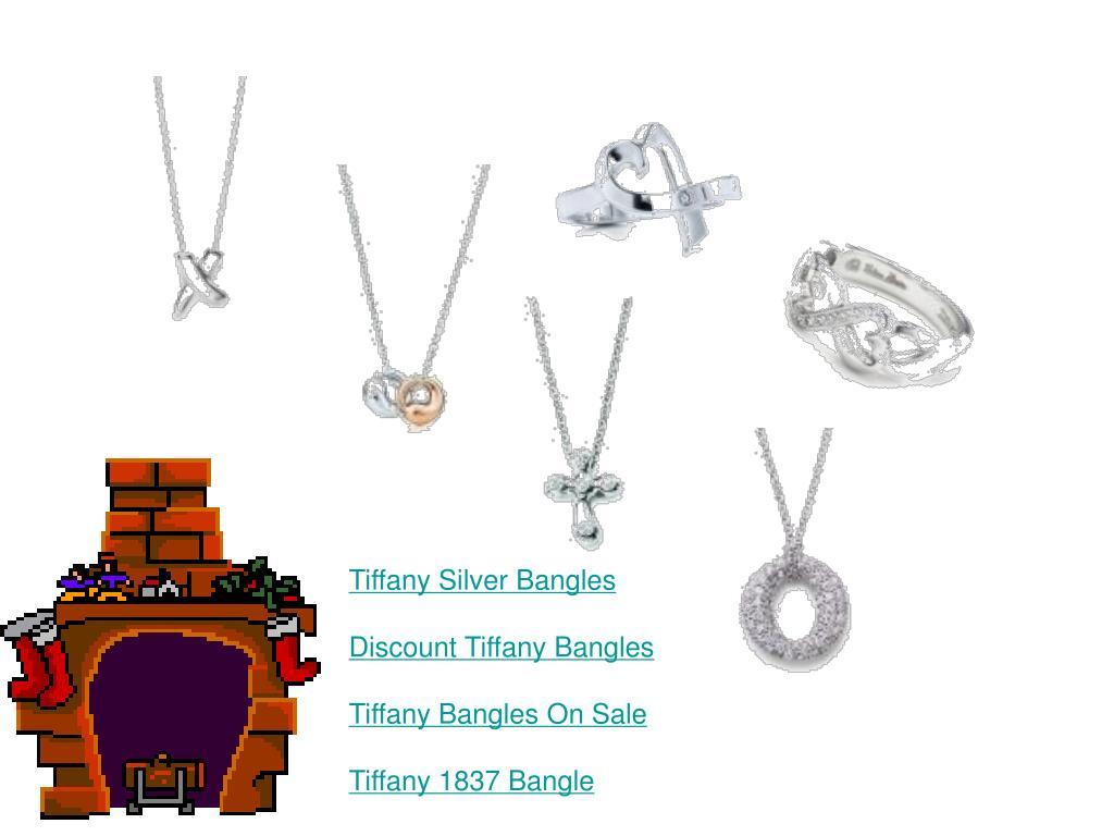 Tiffany Silver Bangles