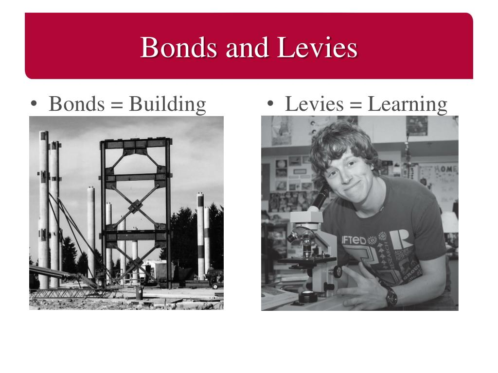 Bonds and Levies