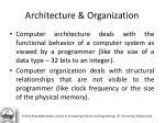 architecture organization