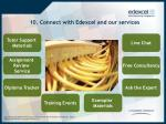 10 connect with edexcel and our services