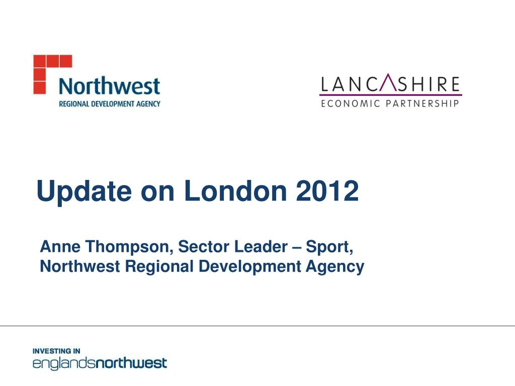 update on london 2012 l.