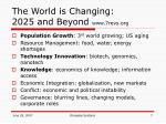 the world is changing 2025 and beyond www 7revs org