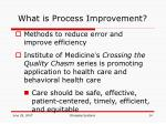 what is process improvement