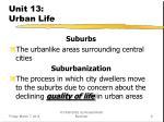 unit 13 urban life9