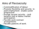 aims of flexisecruity