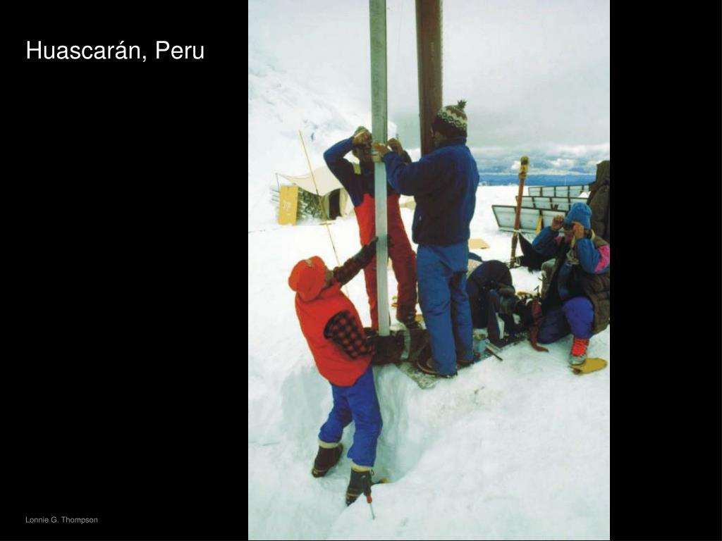 Huascarán, Peru