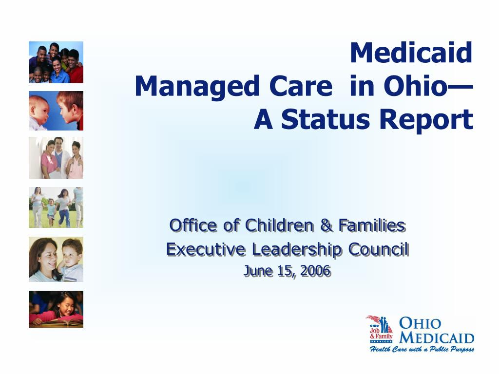 office of children families executive leadership council june 15 2006 l.