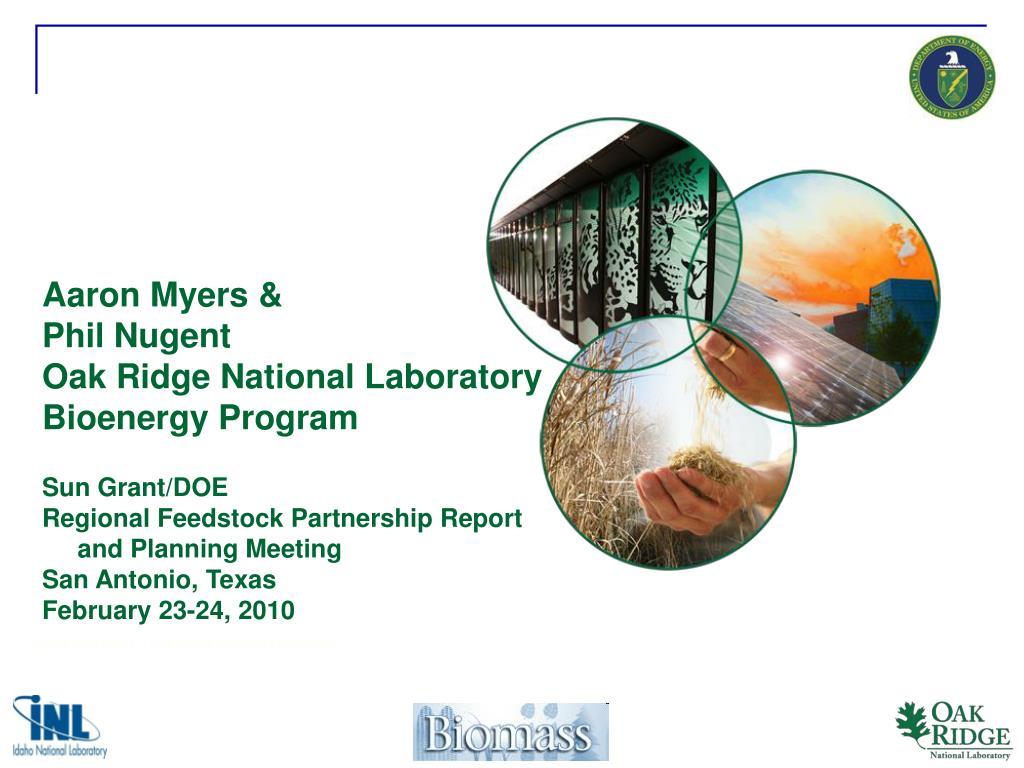 chris abernathy oak ridge national laboratory l.