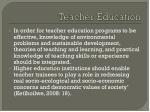 teacher education14