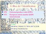 0 bloc de l identification1