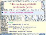 7 bloc de la responsabilit intellectuelle acc s