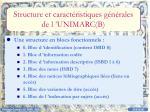 structure et caract ristiques g n rales de l unimarc b
