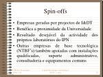 spin offs