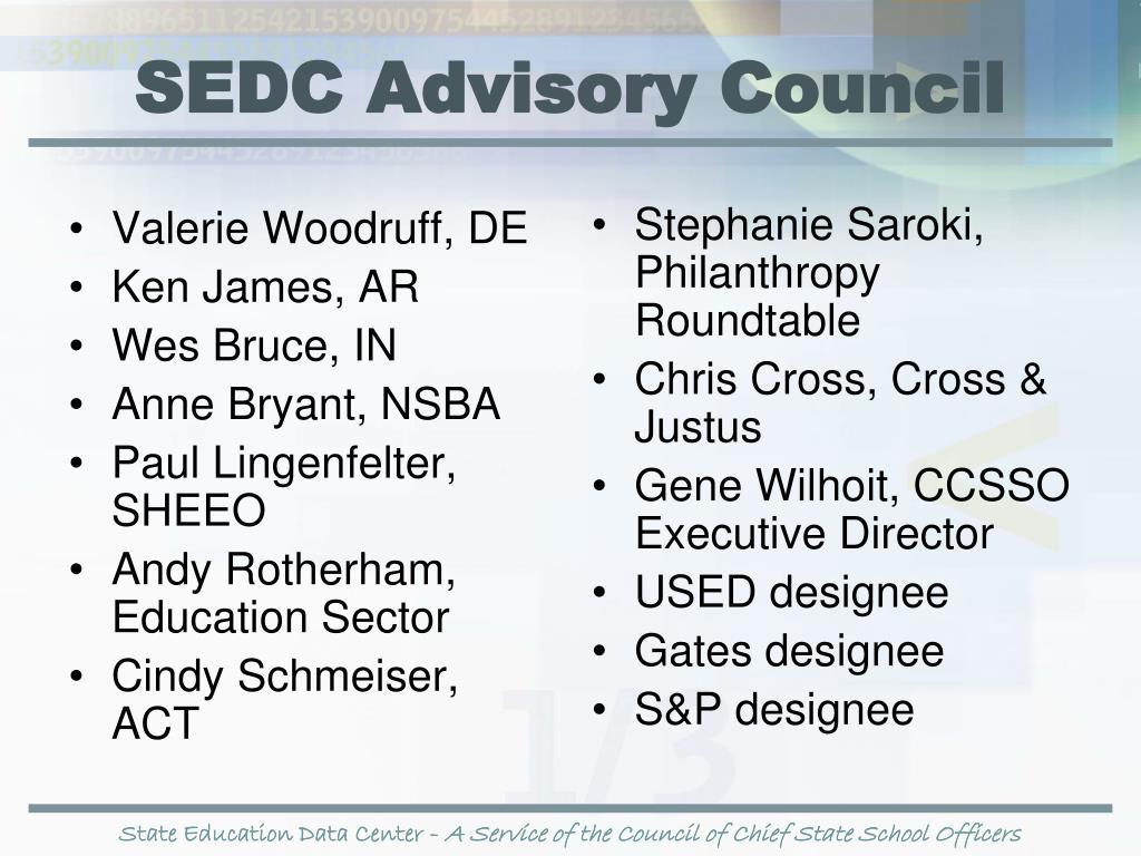 SEDC Advisory Council