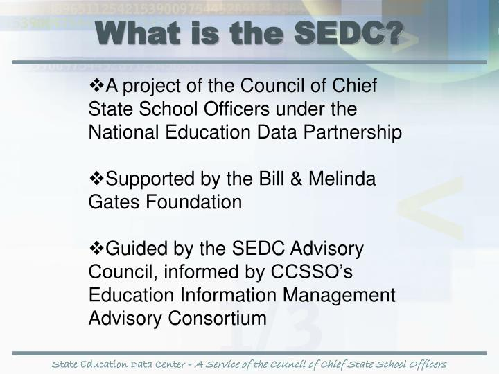 What is the SEDC?