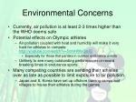 environmental concerns1