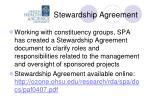 stewardship agreement