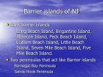 barrier islands of nj