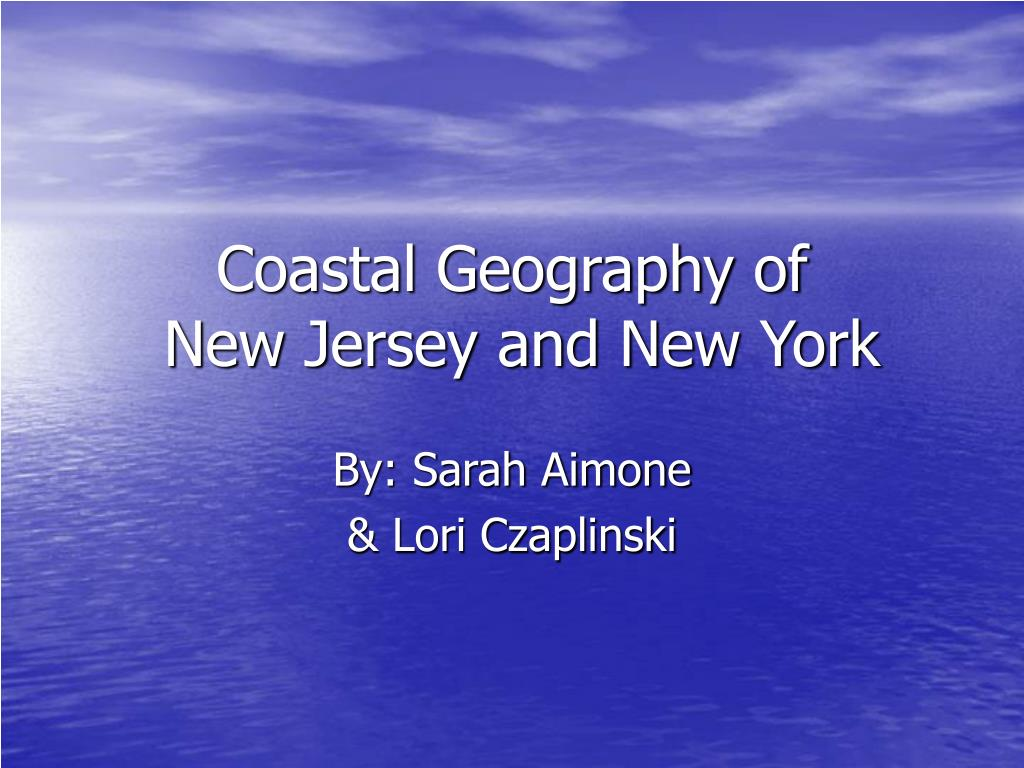 coastal geography of new jersey and new york l.