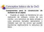 conceptos b sico de la oxo