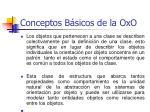 conceptos b sicos de la oxo19